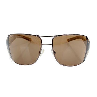 Dámské sluneční brýle s hnědými stranicemi Max Mara