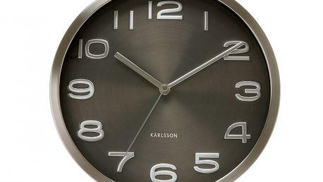 Nástěnné hodiny Maxie- Černé