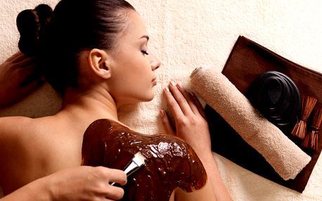 Čokoládová terapie s masáží a saunou