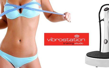 """Zhubněte s námi do plavek – 6 lekcí na vibrační plošině Vibrostation. Naklápěcí vibrační plošina """"cvičí za vás"""" = hubnete pouhým stáním na plošině! Kup za 29 slevu 250Kč"""