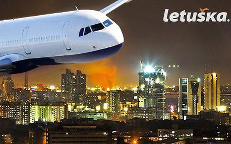 Letenka pro 1 osobu do Bombaje