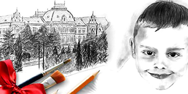 Víkendový kurz kreslení - skvělý tip na dárek pro vás či vaše blízké