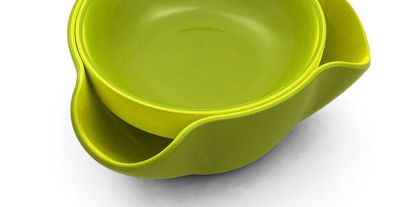 Dvojitá miska Double Dish, zelená od značky Joseph Joseph