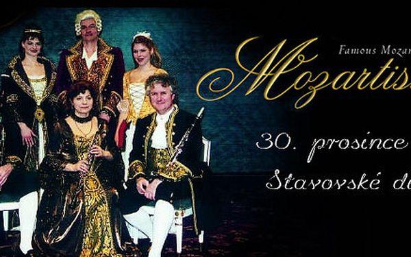 Vstupenka na Mozartissimo ve Stavovském divadle