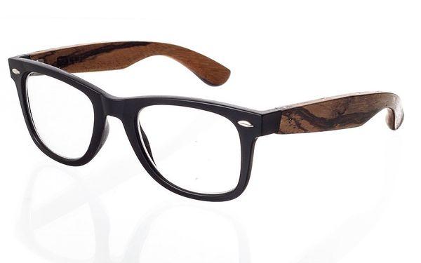 Dřevěné optické brýle Eyewear Number One Optic