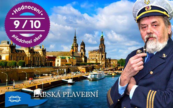 Dárkový lístek na plavbu labským kaňonem do Drážďan s bohatým programem