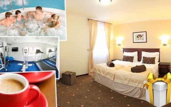 3 dny s POLOPENZÍ a WELLNESS v hotelu U ČERNÉHO ORLA v Třebíči! Relaxační pobyt s vířivkou pro DVA.