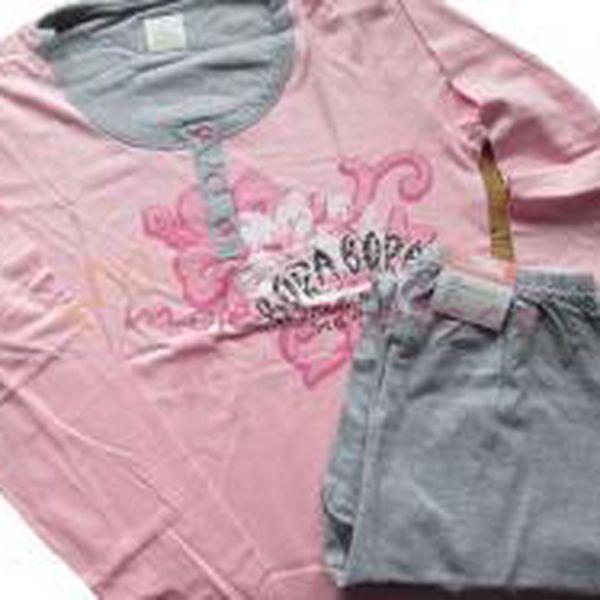 Dámské pyžamo dlouhé Cotonella DD455