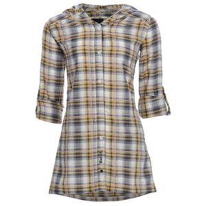 Dámská šedo-žlutá kostkovaná košile Bench