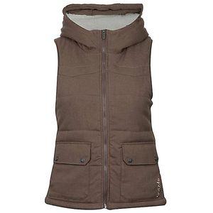 Dámská hnědá termo vesta Bench
