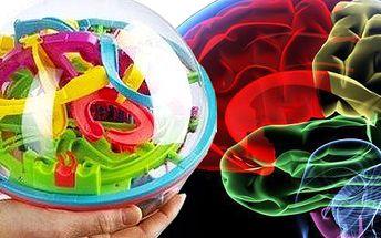 3D HLAVOLAM pro malé i velké se slevou 50%. Prověřte své mozkové závity, trpělivost a zručnost pomocí prostorového hlavolamu. Intellect Ball zábava, která chytne nejen děti!