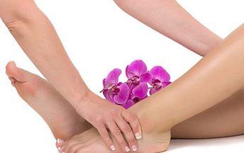 Léčivá lymfatická masáž nožiček za skvělých 377 Kč!