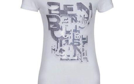 Dámské bílé tričko s potiskem Bench