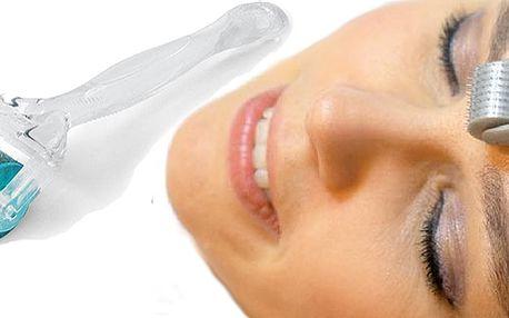Derma roller – ruční přístroj pro omlazení pleti, k léčbě akné, pigmentace, celulitidy, strií a především vrásek! Ušetřete tisíce za mezoterapii a využijte tento nový Derma Roller!