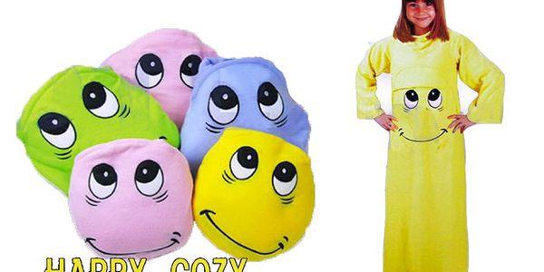 Šťastný polštářek pro děti s poštovným v ceně