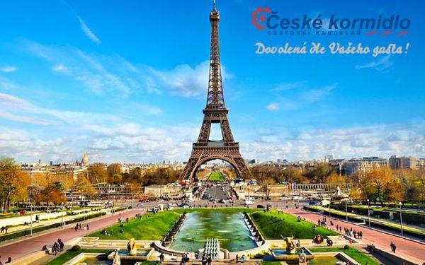 4denní zájezd do Francie – Paříž a Versailles
