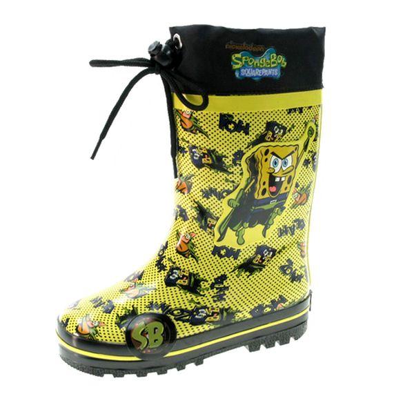Zateplené holínky SpongeBob