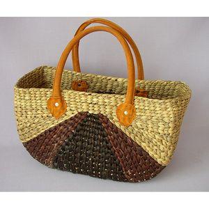 Nákupní taška pletená, 44 x 21 x 26 / 43 cm