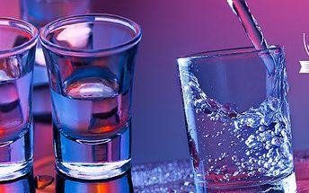 3x vodka Stolichnaya v novém baru Molotok