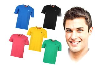 Set pěti barevných triček od značky Slazenger!!!