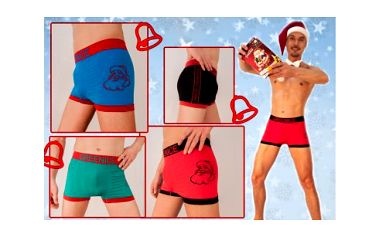 Dvoje originální a velmi praktické vánoční boxerky z bezešvého kvalitního materiálu s mikrovláknem, díky kterému je celodenní nošení opravdu pohodlné. Obdarujte své bližní praktickým dárkem.