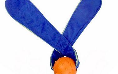 Přetahovací hračka pro psy - uši REBEL DOG, modrá