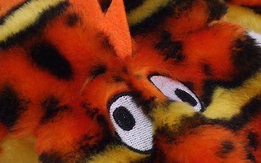 Gekon s 2 pískátky Kyjen oranžový
