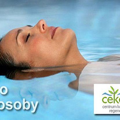 Relaxační a léčebná FLOATING terapie pro dvě osoby + přírodní minerální sůl z Mrtvého moře Leyla.