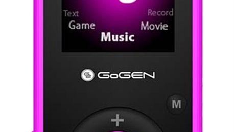 Stylový a výkonný MP3 přehrávač GoGEN Kids MAXIMP3 ozdobený postavičkami Maxipsa Fíka