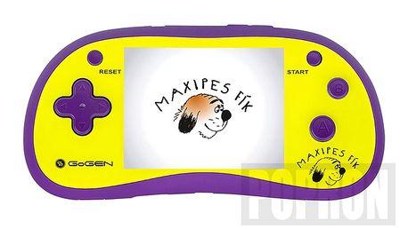 Dětská kapesní hra se 180 arkádovými hrami. GOGEN MAXIHRY180B - fialová