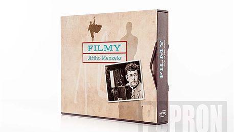 Unikátní kolekce Jiřího Menzela, 17 DVD
