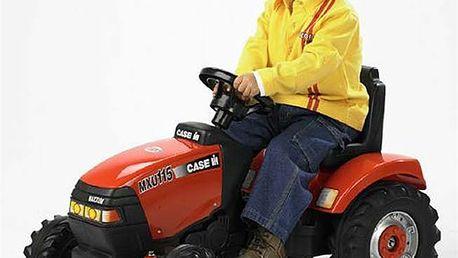Traktor Case IH MXU 115, 81x45 cm na šlapací pohon