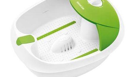 Perličková masážní vanička Sencor působí blahodárně na vaše chodidla