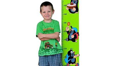 Pěnový dětský metr Krtek - zelený