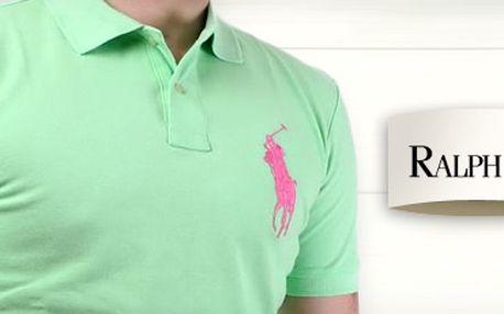 Vsaďte na klasiku: značkové pánské triko Polo Ralph Lauren za 890 Kč!
