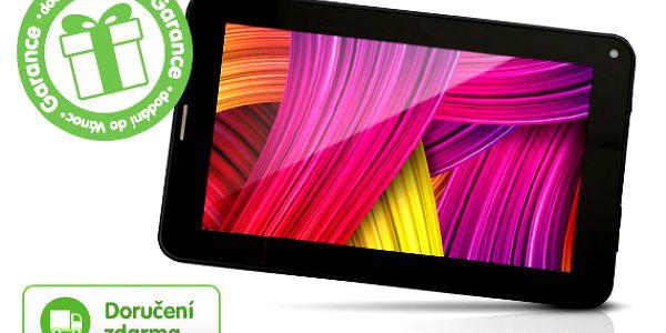 7palcový tablet s telefonem a Android 4.0