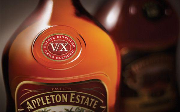 Láhev rumu Appleton Estate od 215 Kč! Dodání do Vánoc a nově poslání poštou!
