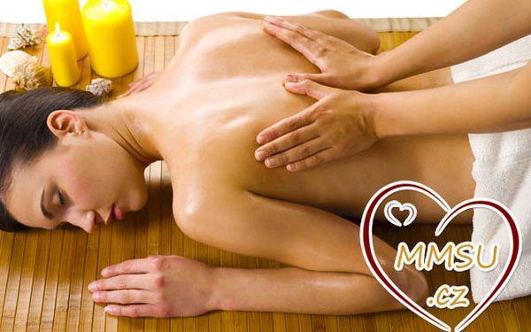 90minutová energetická masáž ve SPA studiu