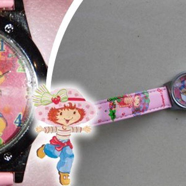 Krásné dětské hodinky s oblíbenou panenkou Jahůdkou, které jsou určeny především pro malé slečny, které již potřebují mít svůj čas pod kontrolou. A navíc baleno v krásné dárkové krabičce!!
