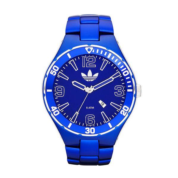 Královsky modré sportovní hodinky Adidas