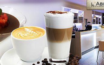 2 prvotřídní kávy s dezertem v Caffe baru l'Abbuffata