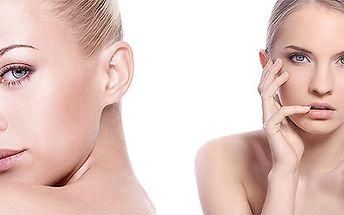 Omlazení obličeje - fotorejuvenace IPL + výživné sérum s kyselinou hyaluronovou