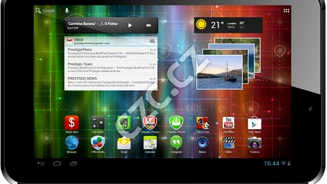Tablet Prestigio MultiPad 2 Pro Duo 7.0 (PMP5670), černá