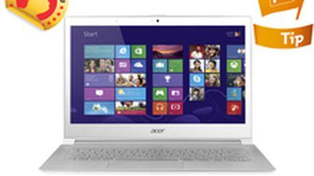Stylový Ultrabook Acer Aspire S7-391-53314G12aws, bílá NX.M3EEC.002