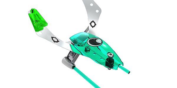 Zelený průzkumný letoun