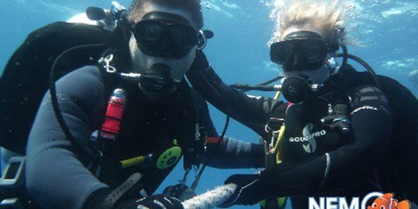 Potápěčský kurz OWD za 4990 Kč! Jen 20 voucherů k dispozici!