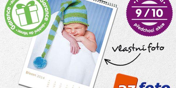 Velký nástěnný fotokalendář pro rok 2014