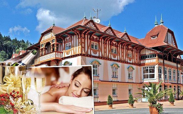 3denní lázeňský pobyt s bohatým wellness v Luhačovicích v lázeňském domě Praha