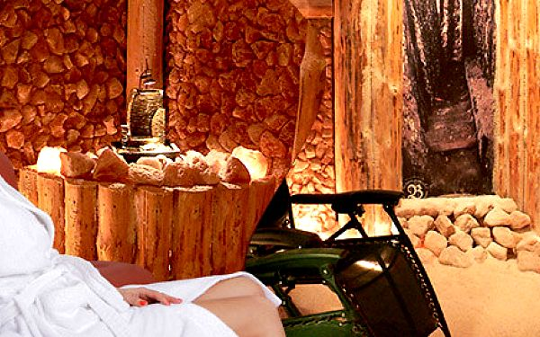Relaxace v solné jeskyni včetně nápojů