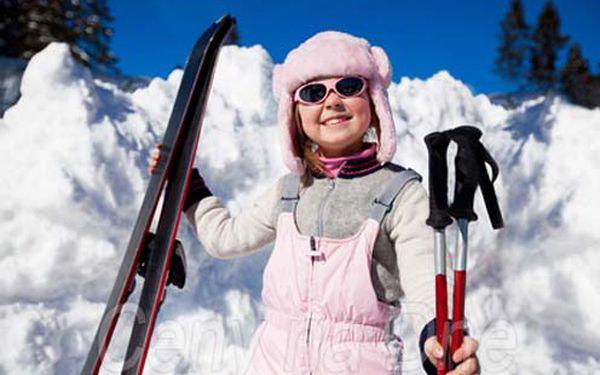 Kouzelná lyžovačka pod Roháči. Tři dny se skipasem a polopenzí pro dvě osoby za 138 € !